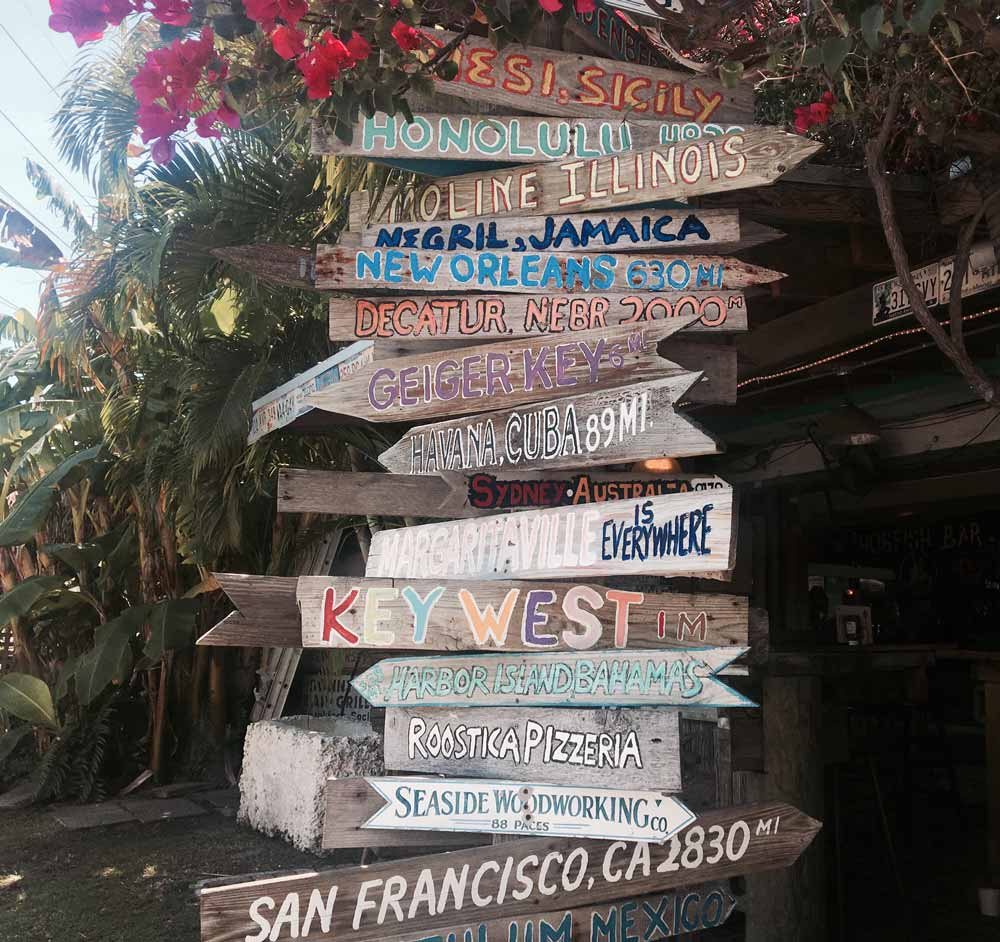 directions in Key West