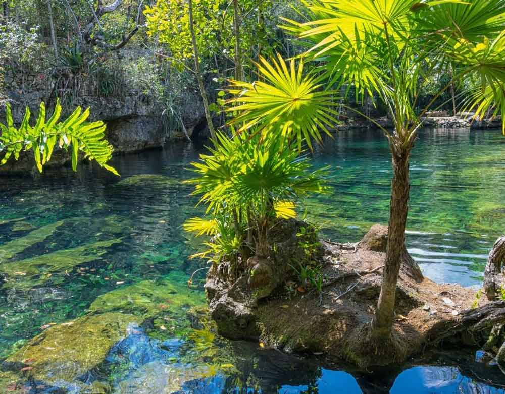 Cenotes at Hacienda Mucuyché, a romantic things to do in Merida