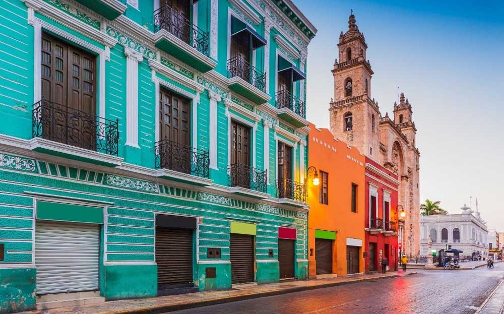 Paseo de Montejo & Centro Histórico