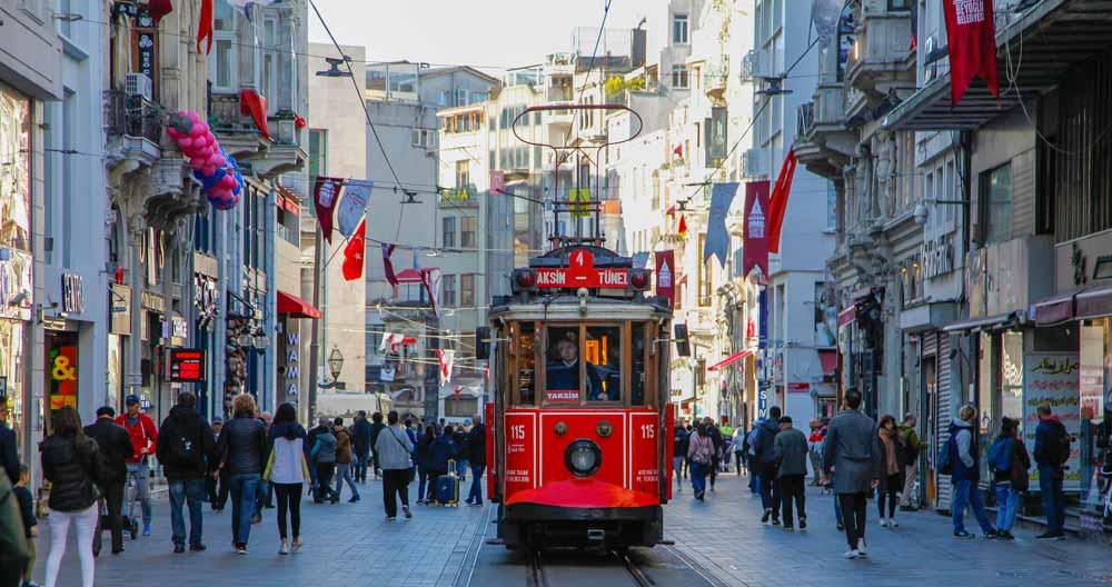 Istiklal Street Turkey