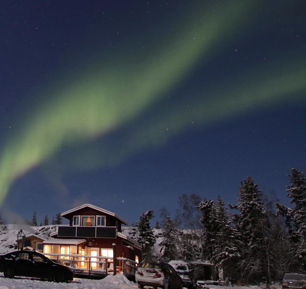 Churchill, Manitoba northern lights in Canada