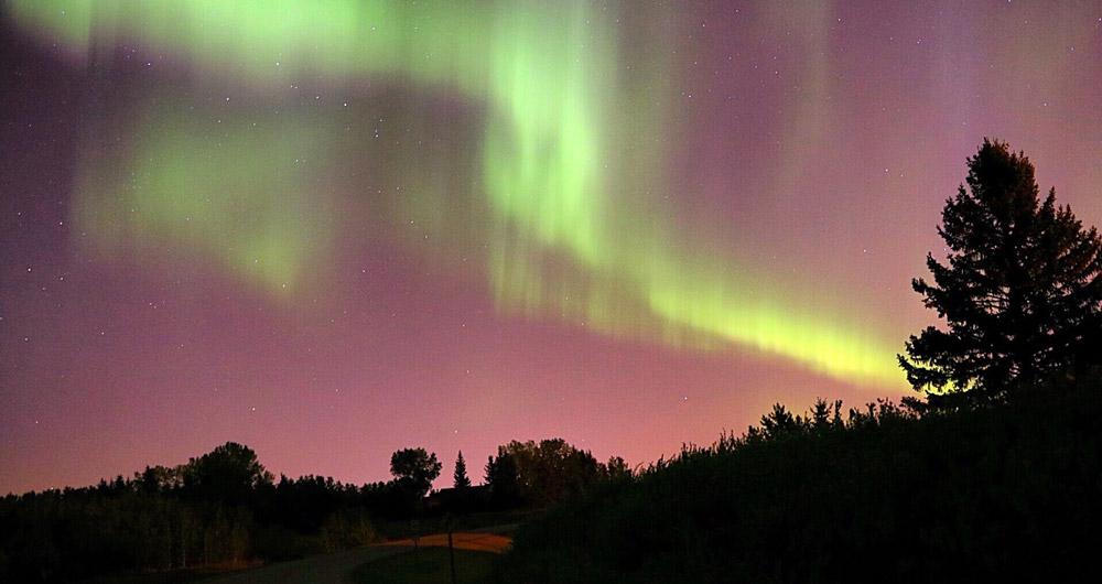 Edmonton, Alberta best northern lights in canada