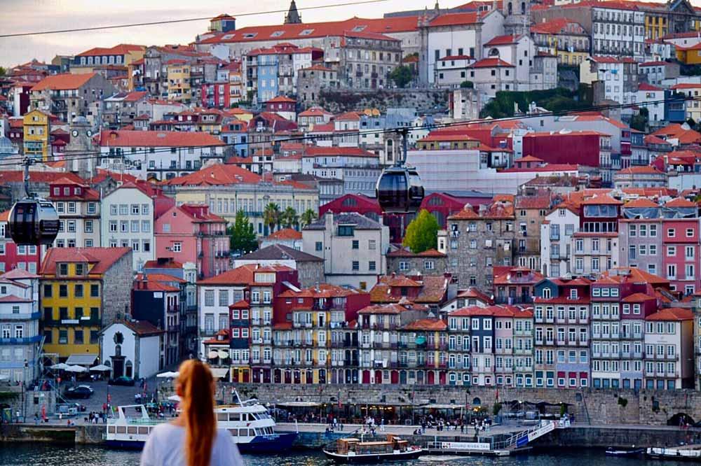 Porto viewpoint in Portugal