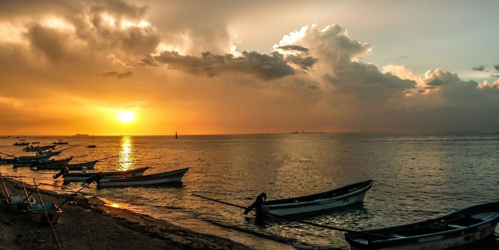 Puerto Progreso beach in Merida