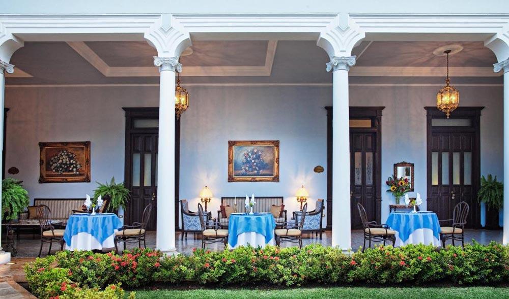 Casa Azul romantic hotel in Merida