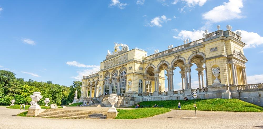 Vienna palace in Austria