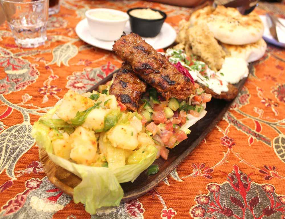 Dinner in Istanbul Turkey