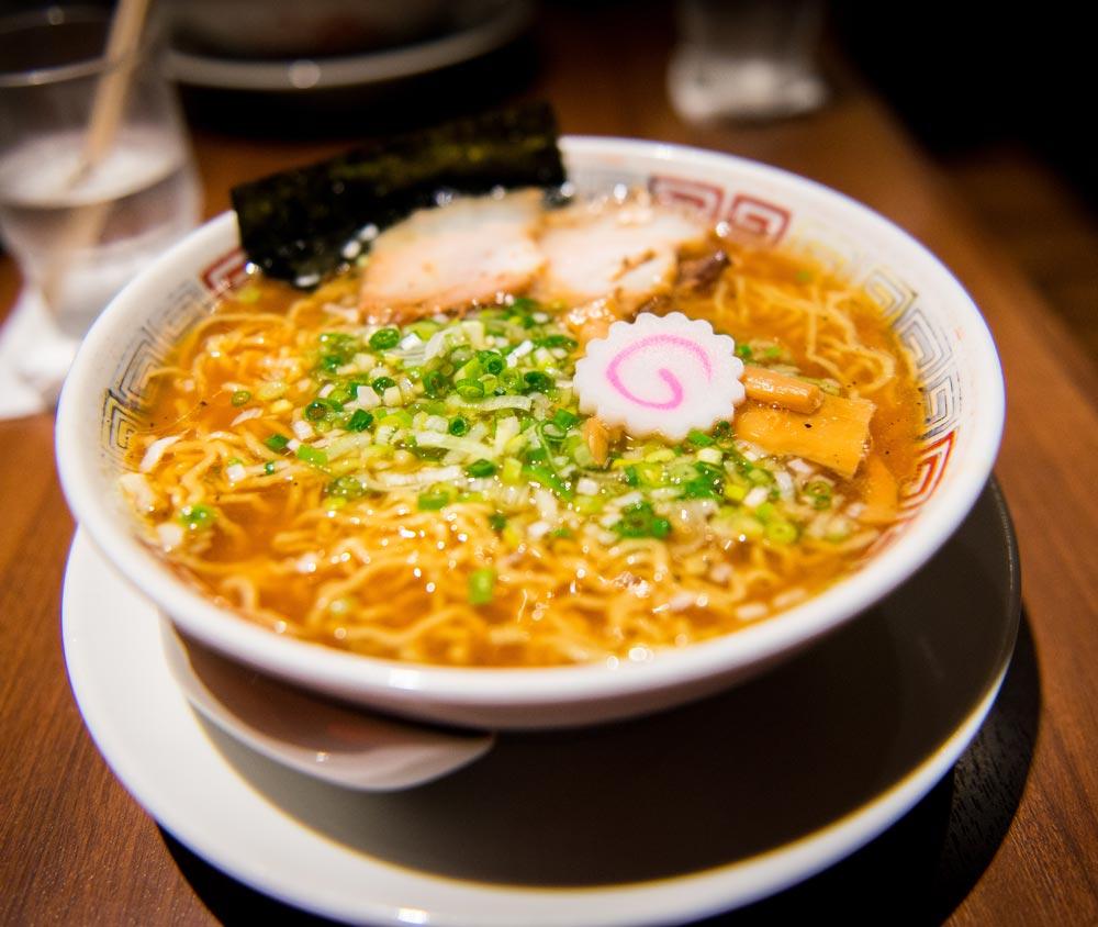 A bowl of ramen in Japan