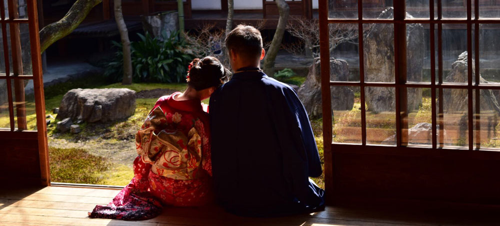 Romantic places in Japan