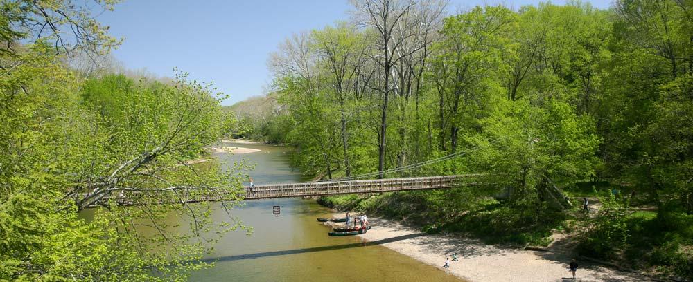 Turkey run canoeing