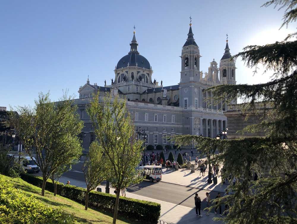 Beautiful Madrid, city in Spain