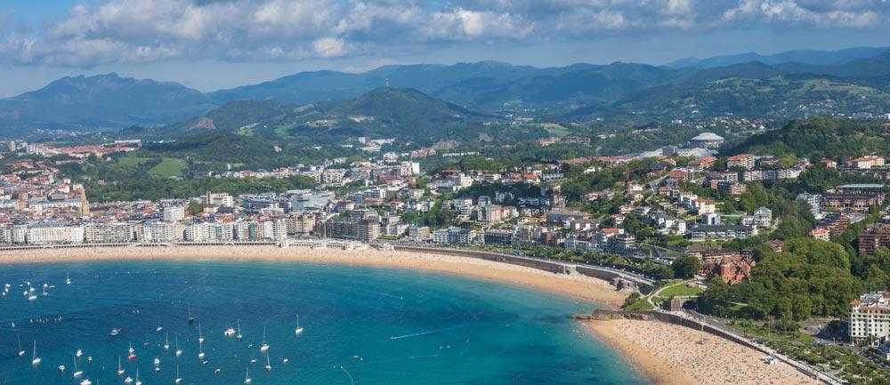 San Sebastian Most beautiful cities in Spain