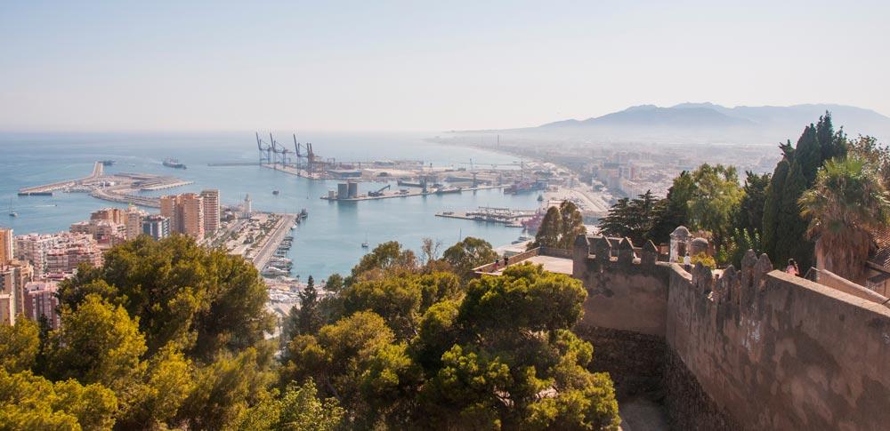 Malaga viewpoints